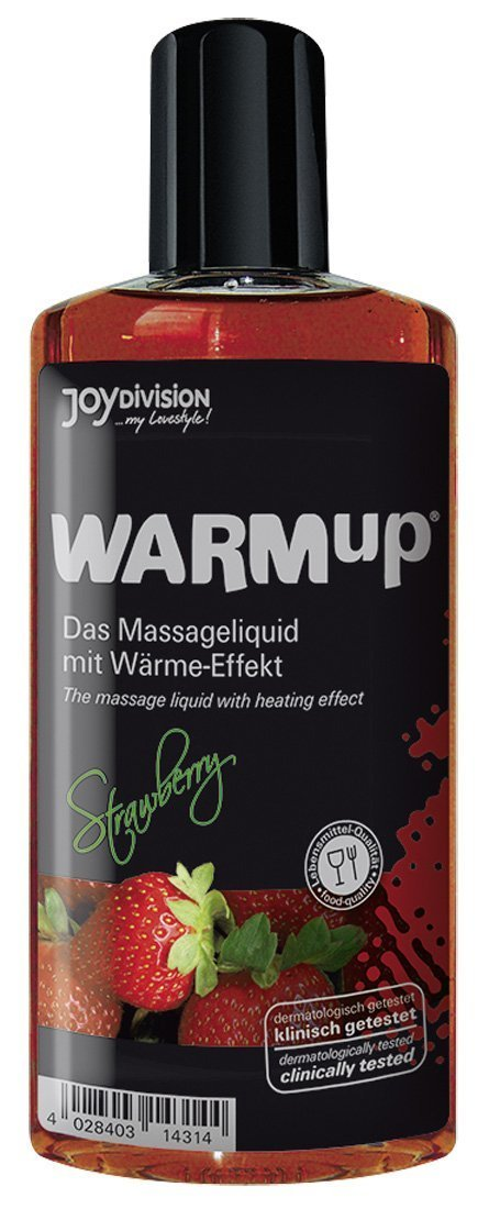 WARMup masážní olej jahoda 150ml Joydivision Präparate