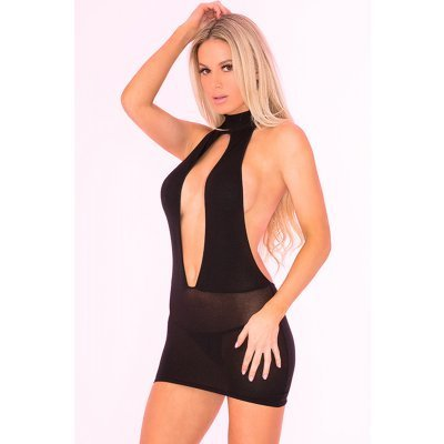 Bare With Me Open Back Dress
