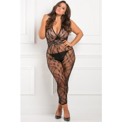 Lacy Movie Bodystocking Plussize