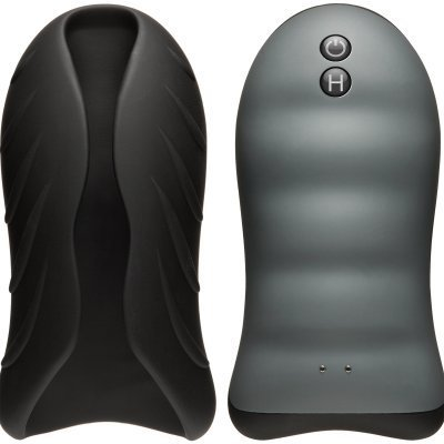 Silicone Warming Stroker - Vibrating