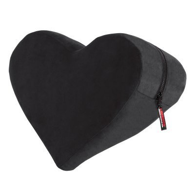 Heart Wedge Position Pillow - Black
