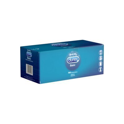 Durex Natural (Basic) Condoms - 144 pcs.