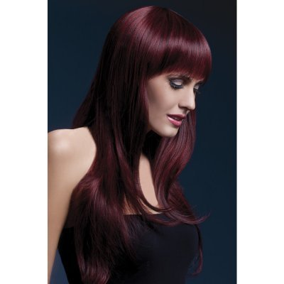 Long Wig Fever - Dark Red