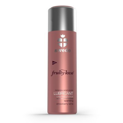 Sparkling Strawberry Wine Water-Based Lubricant - 100ml