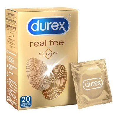 Durex Real Feel Condoms - 20 units