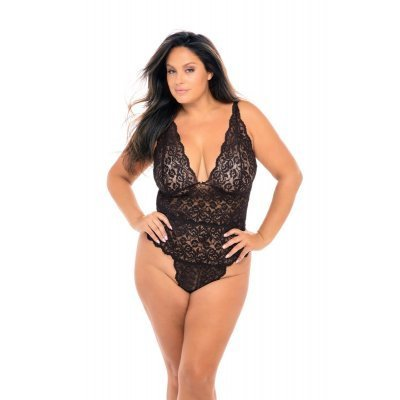 Black Lace Body - Curvy
